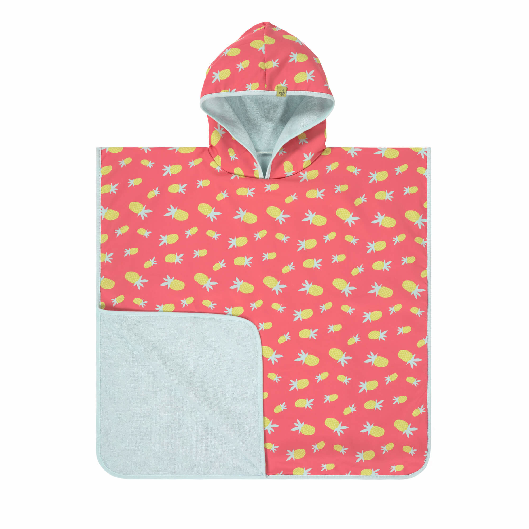 Lässig Lässig Splash & Fun Beach Poncho Pineapple