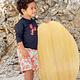 Lässig Lässig Splash & Fun Board Shorts / Zwemshorts -  Lobster 12 mnd