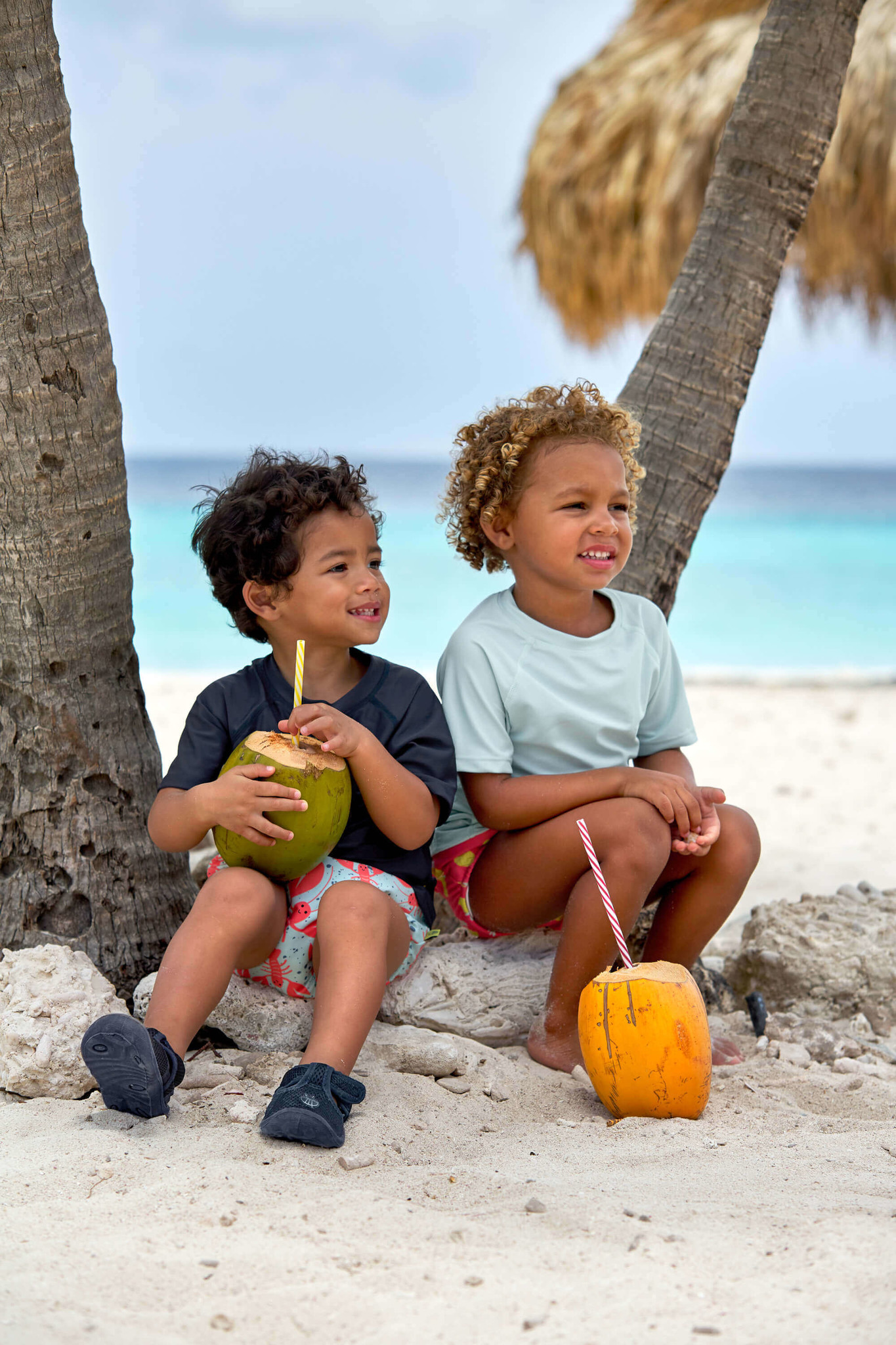 Lässig Lässig Splash & Fun Beach Strandschoentje - Navy (SS18) maat 20