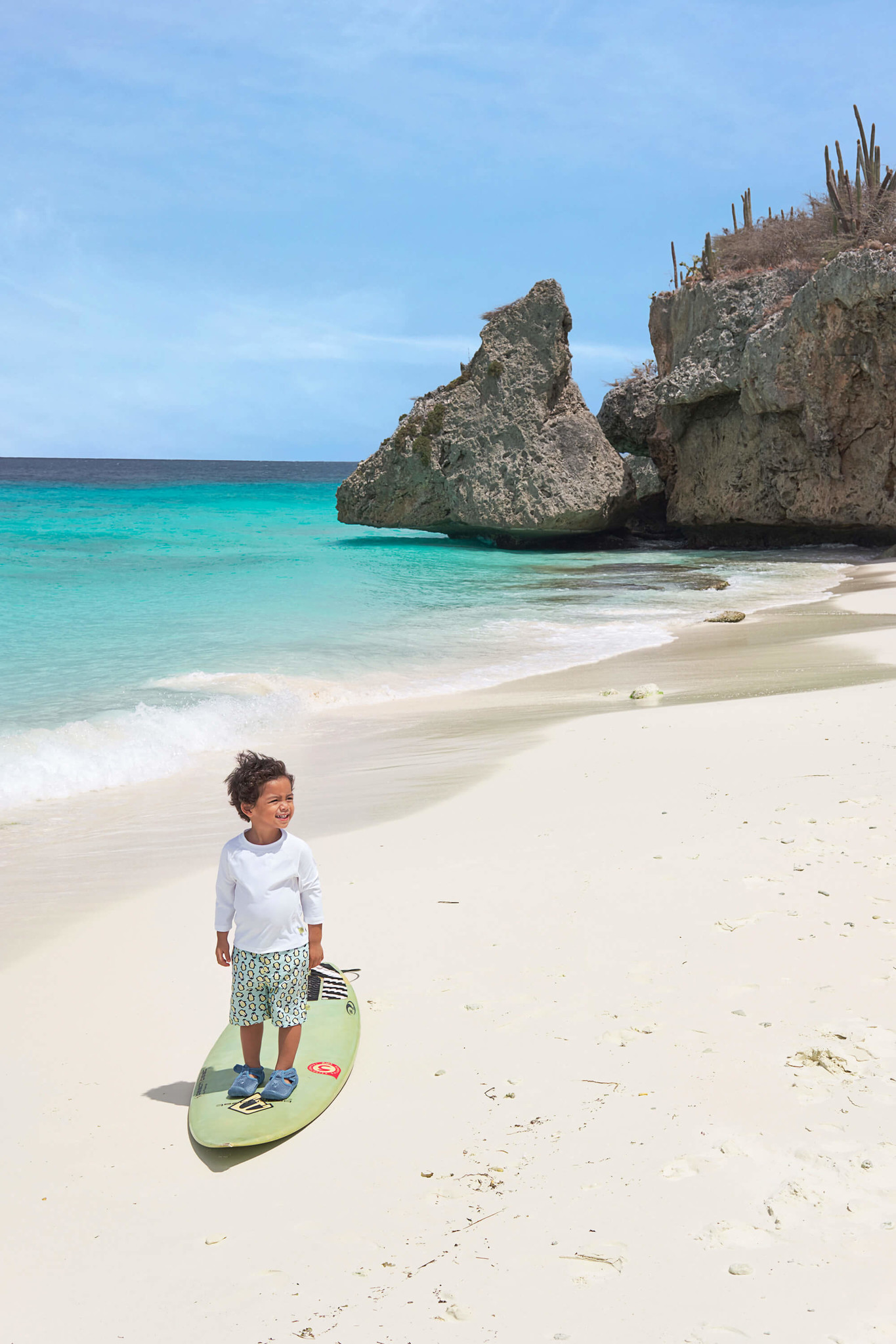 Lässig Lässig Splash & Fun Beach Strandschoentje - Niagara Blue maat 20