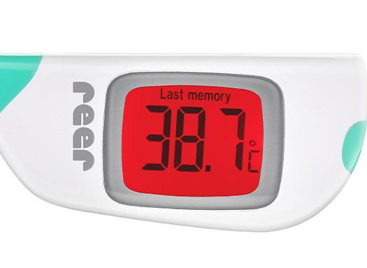 Reer Reer ColourTemp Digital Thermometer mit großem Bildschirm