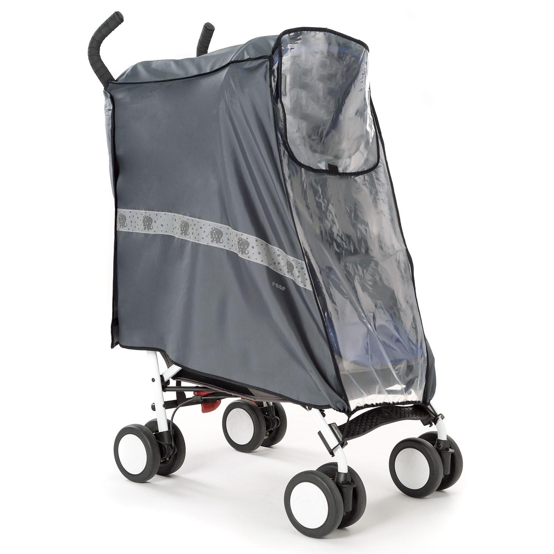 Reer REER DESIGNLINE Rainsafe Active regenhoes voor buggy's en sportieve kinderwagens
