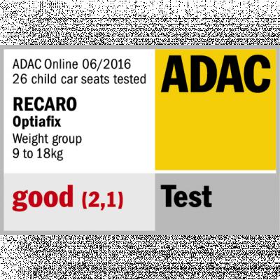 Recaro RECARO Optiafix - Aluminium Grey