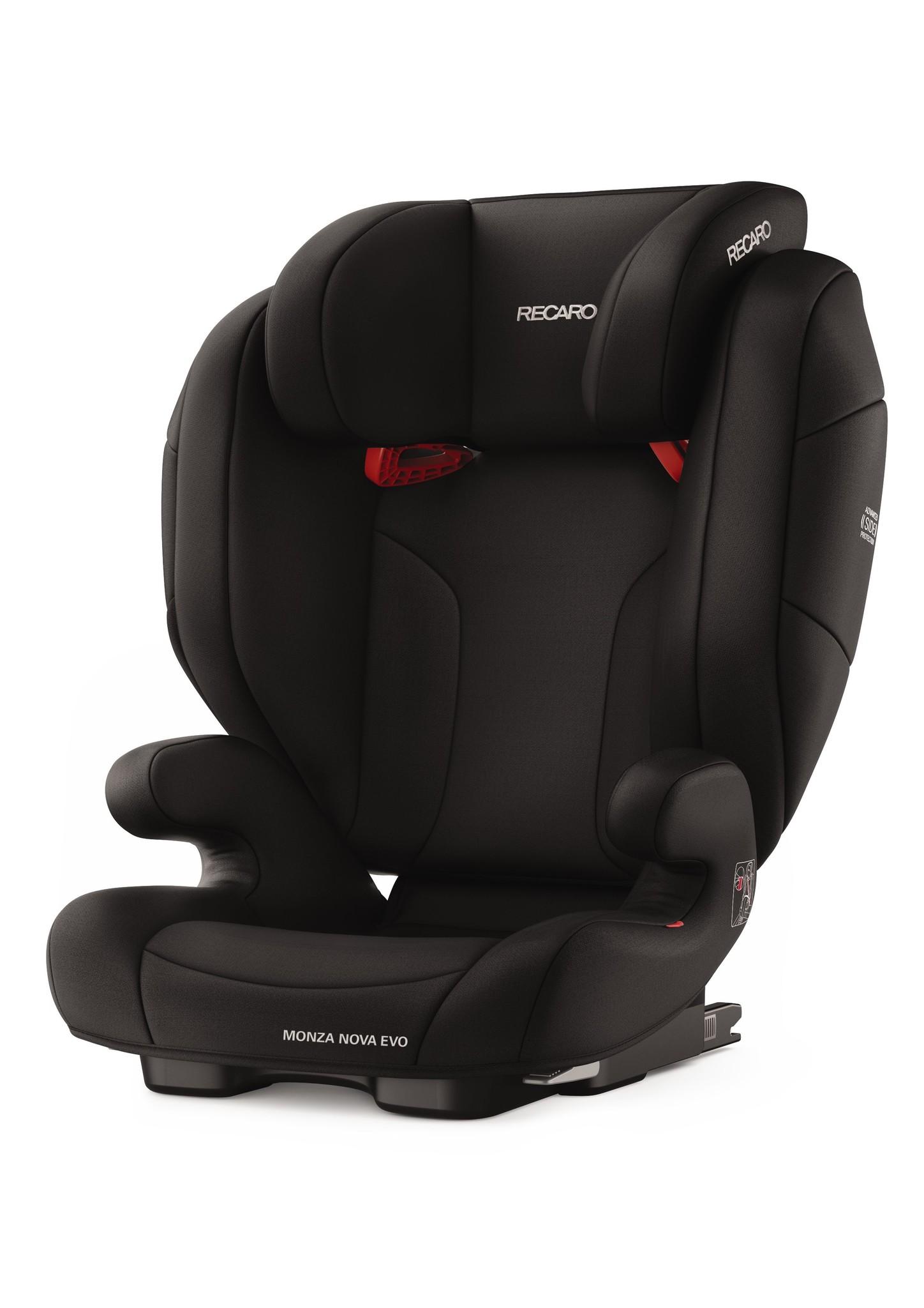 Recaro RECARO Monza Nova EVO Seatfix - Performance Black
