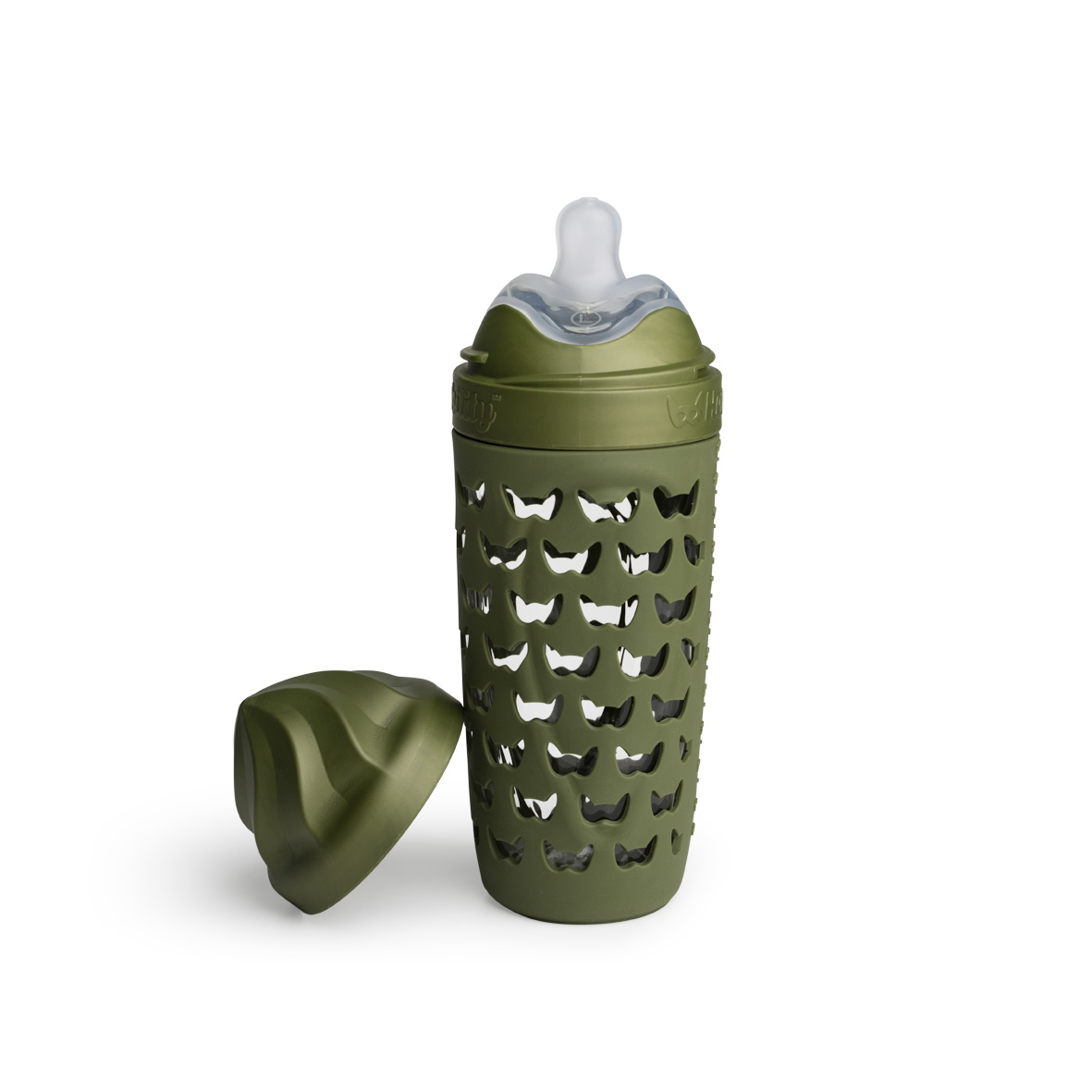Herobility Herobility HeroEcoBottle Flasche 320ml Forest Green
