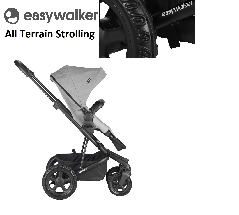 Easywalker Easywalker Harvey² All Terrain - Stone Grey