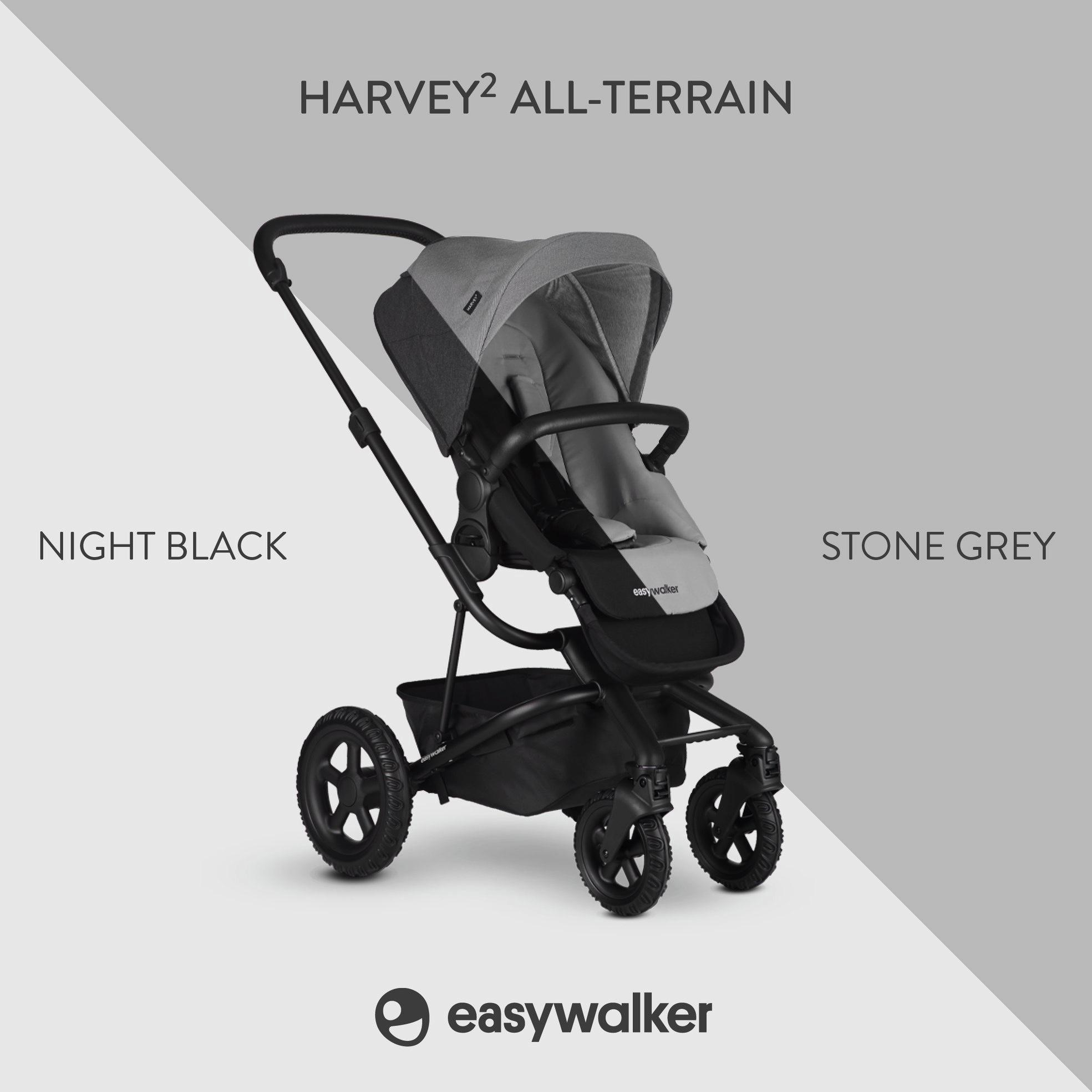 Easywalker Easywalker Harvey² All Terrain - Night Black