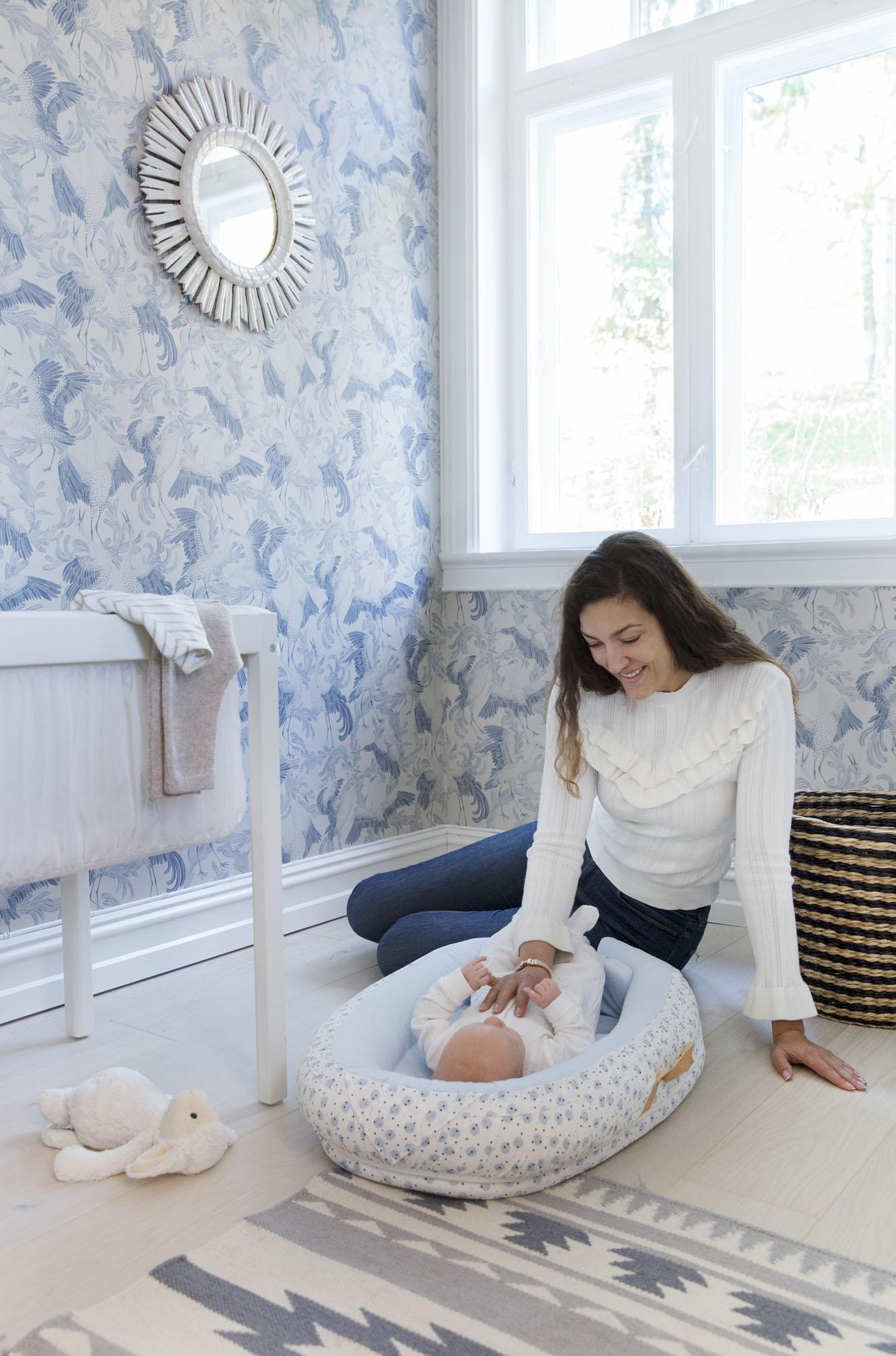 Voksi Voksi Baby Nestje Premium Blue Moon