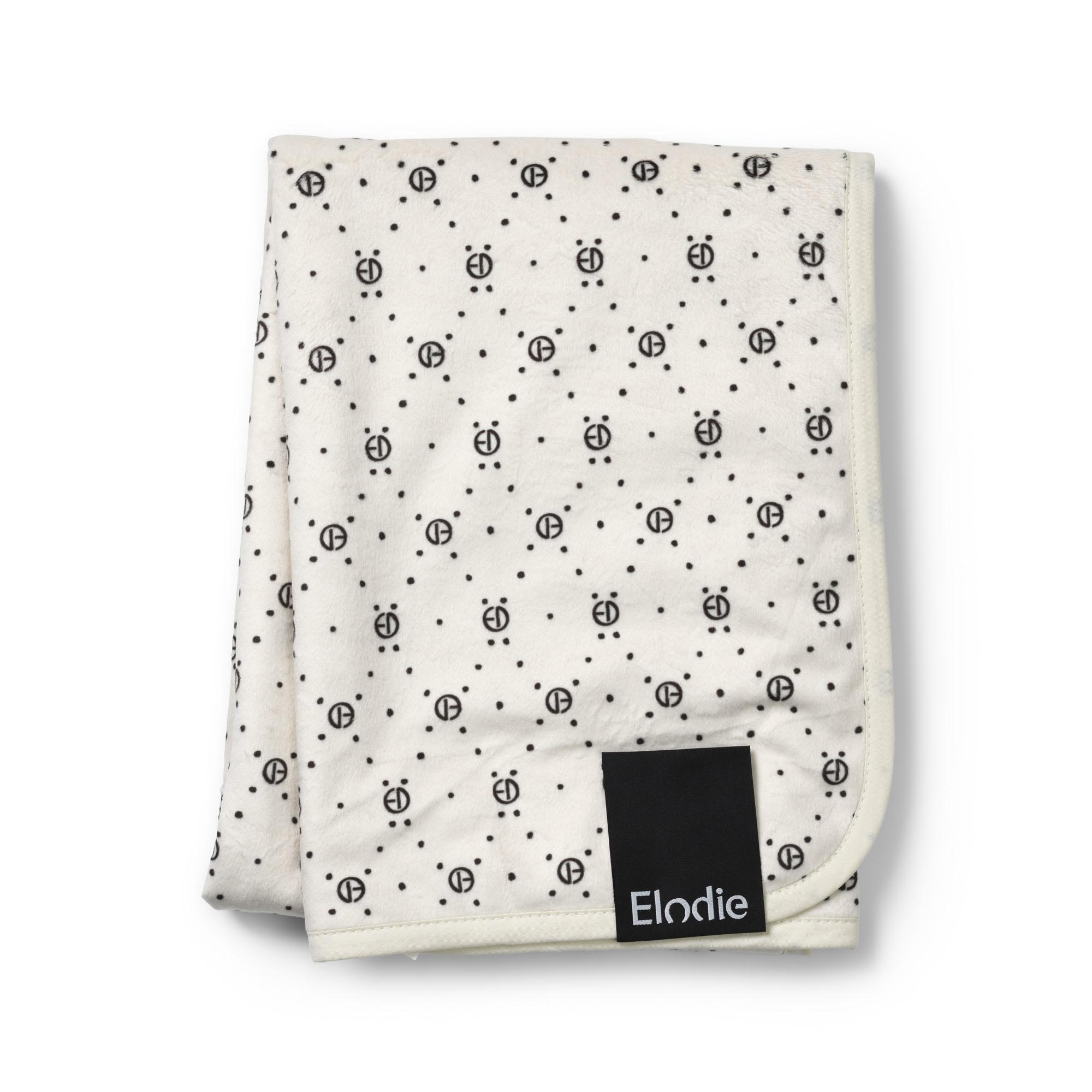 Elodie Details Elodie Pearl Velvet Decke Monogramm 70 x 100 cm