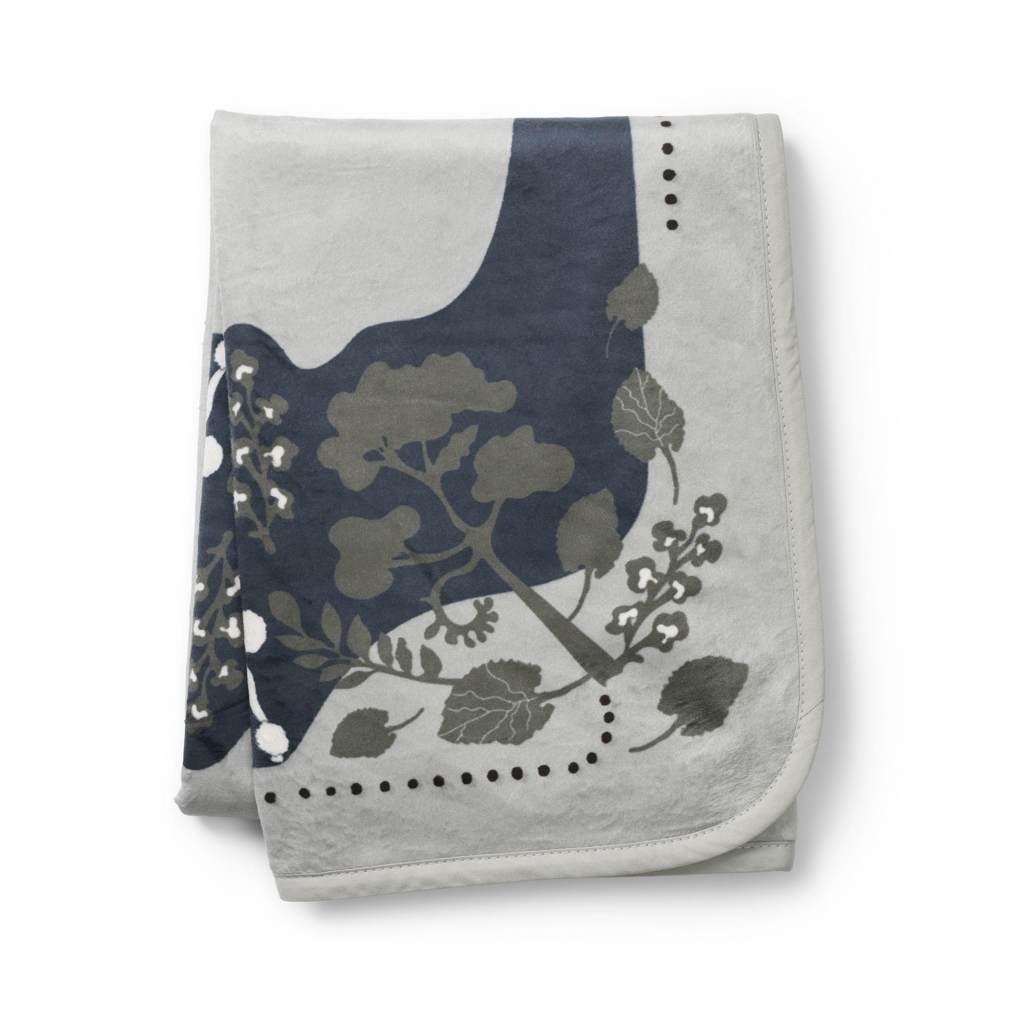 Elodie Details Elodie Pearl Velvet deken Rebel Poodle Mineral Green 70 x 100 cm