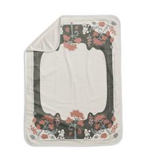 Elodie Details Elodie Pearl Velvet deken Rebel Poodle Vanilla White 70 x 100 cm