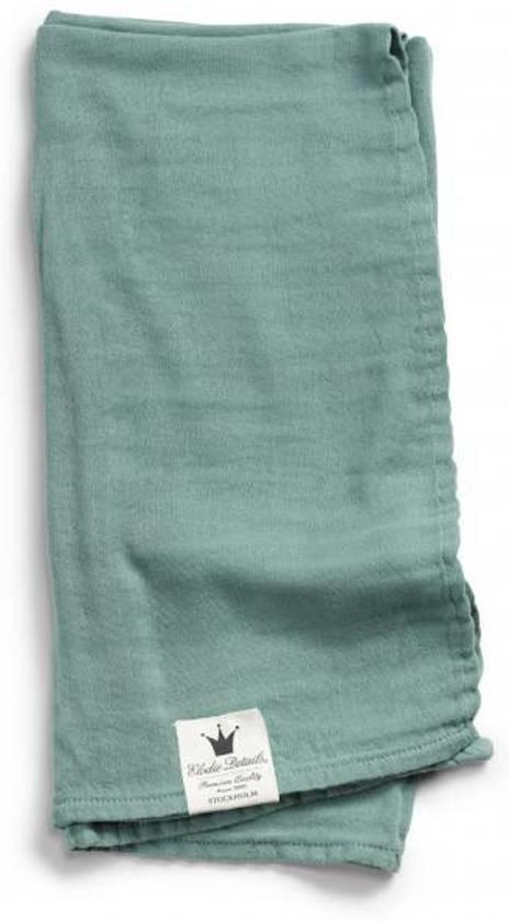 Elodie Bamboe Hydrofiele doek Mineral Green 80x80cm