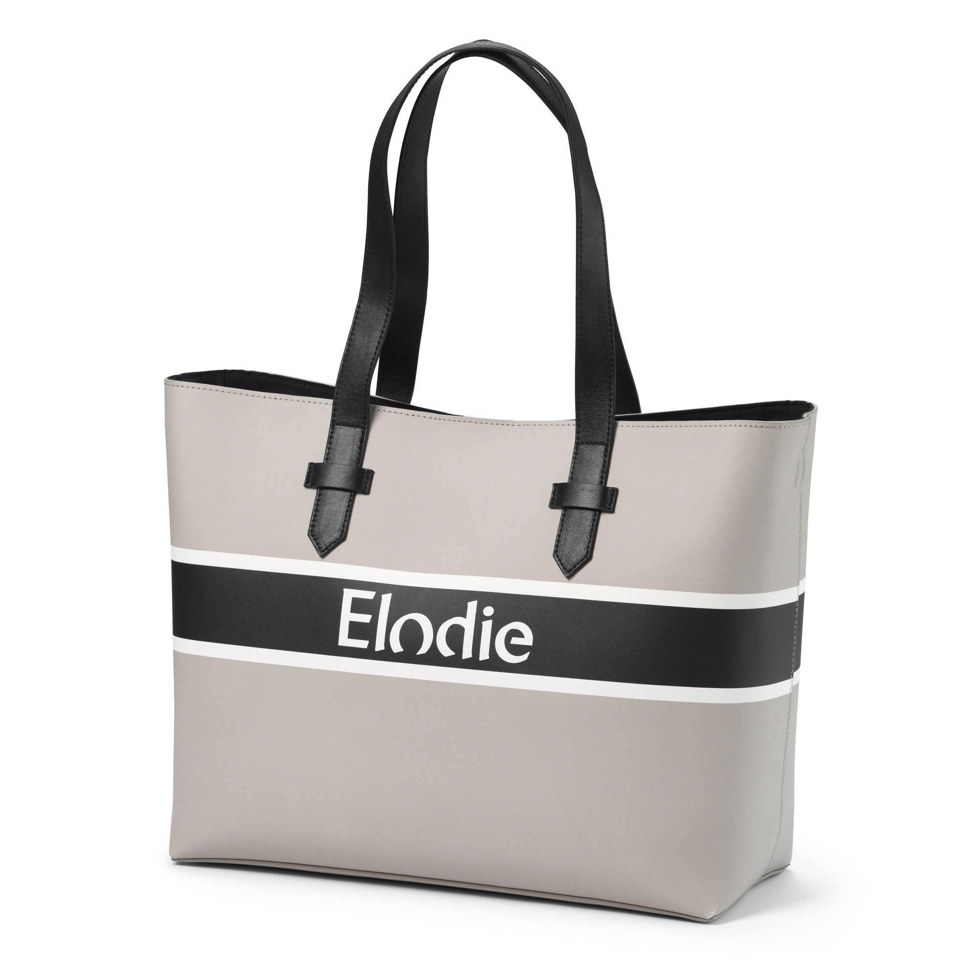 Elodie Details Elodie Wickeltasche Saffiano Logo Tote