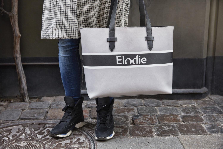 Elodie Details Elodie Luiertas Saffiano Logo Tote