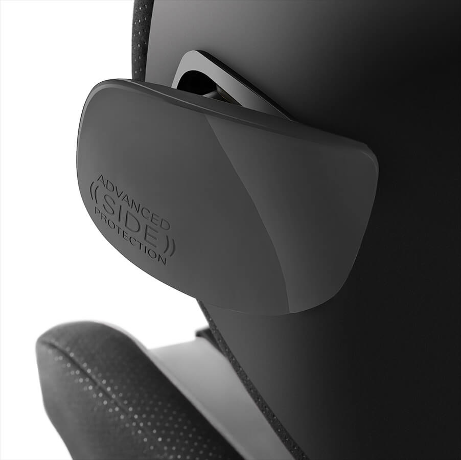 Recaro RECARO OPTIAFIX - INDY RED  + Extra Bekledingset voor de Recaro Optiafix in kleur Carbon Black