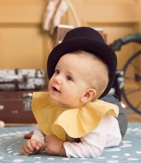 Elodie Details Elodie Details Spuugdoekje Pierrot - Sweet Honey