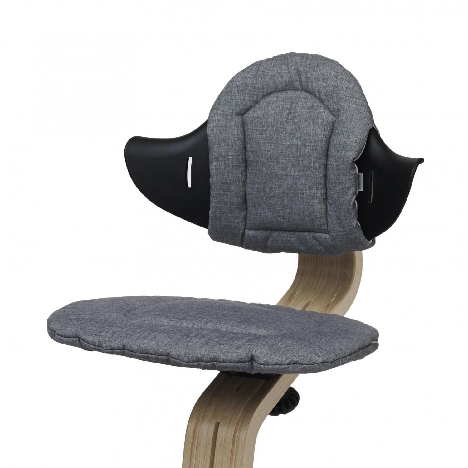 Nomi Nomi Highchair cushion kussen Dark grey / sand