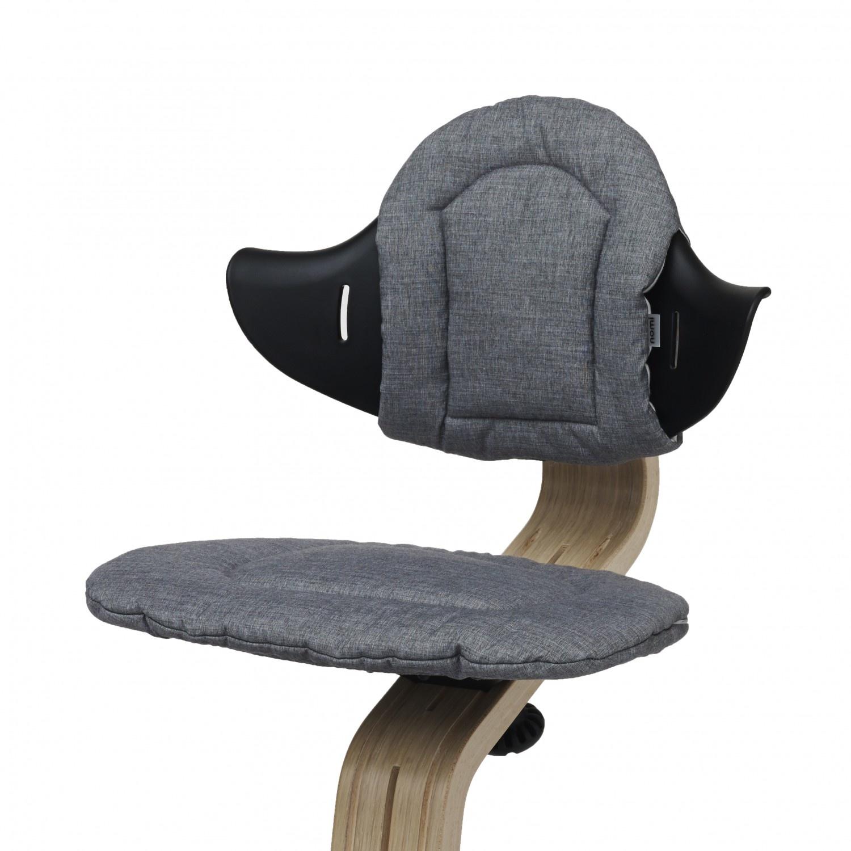 Nomi Nomi Highchair cushion kussen Dark grey / sand