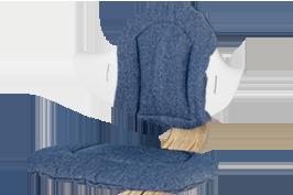 Nomi Nomi Highchair cushion kussen Premium Denim