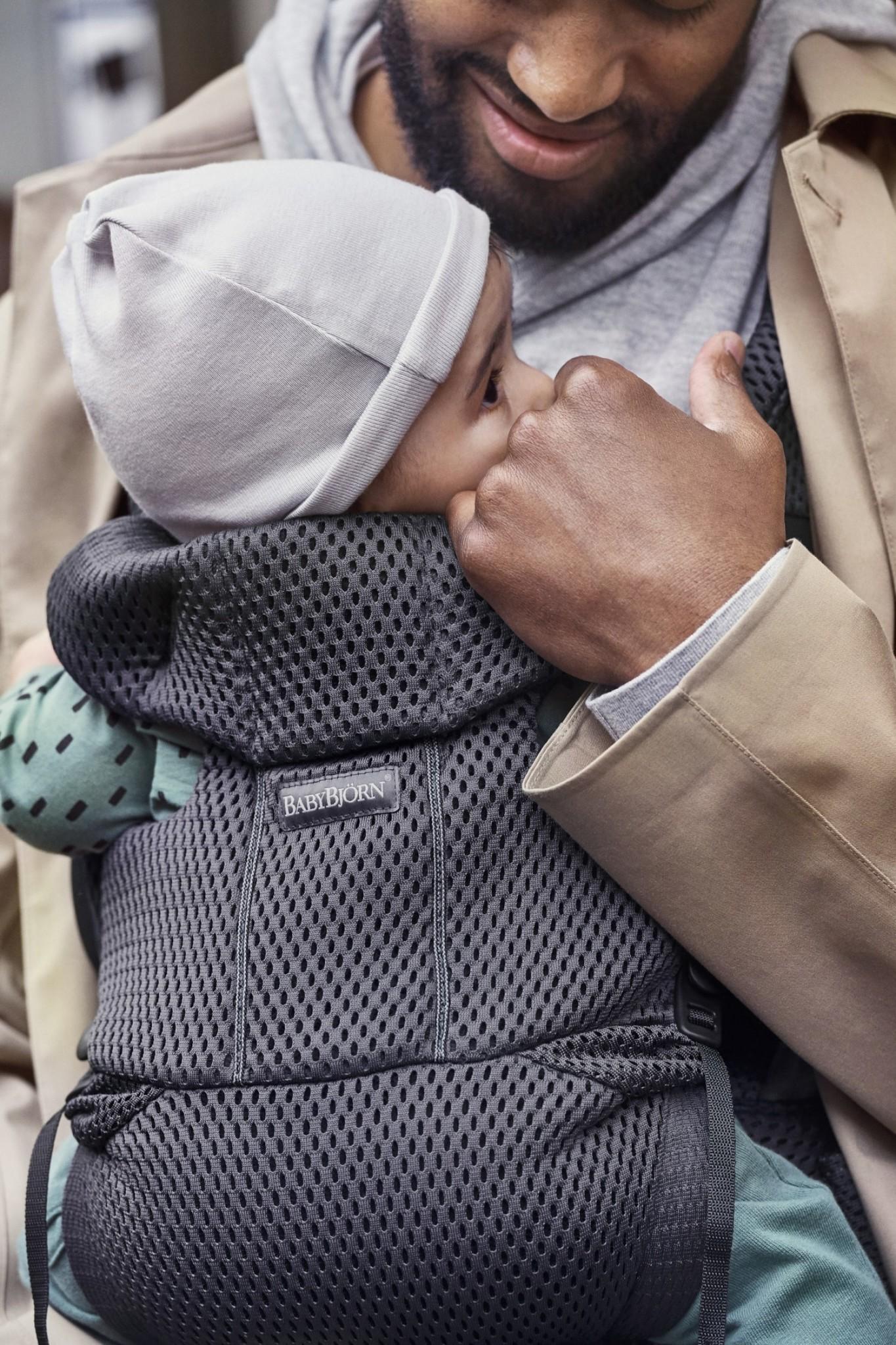 BABYBJÖRN BabyBjörn Babytrage MOVE Anthrazit 3D Mesh