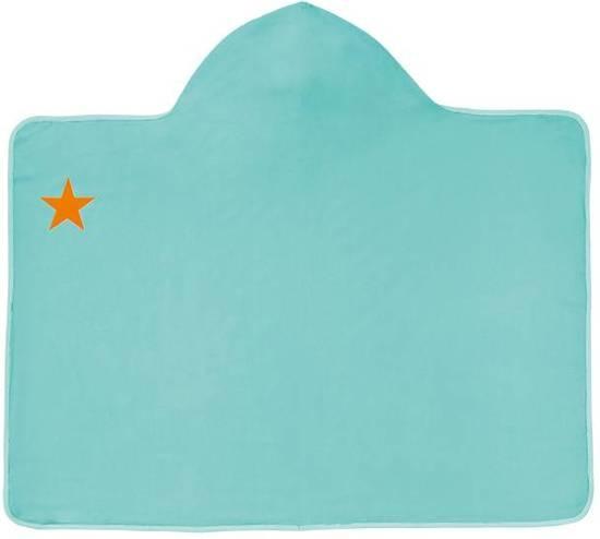 Lässig Lässig Splash & Fun Capuchon handdoek aqua Star Fish (ster)