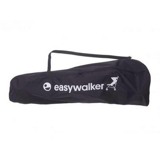 Easywalker Aanbiedingsset van Mini by Easywalker buggy+ LXRY black + Easywalker voetenzak oxford black + Easywalker transport tas