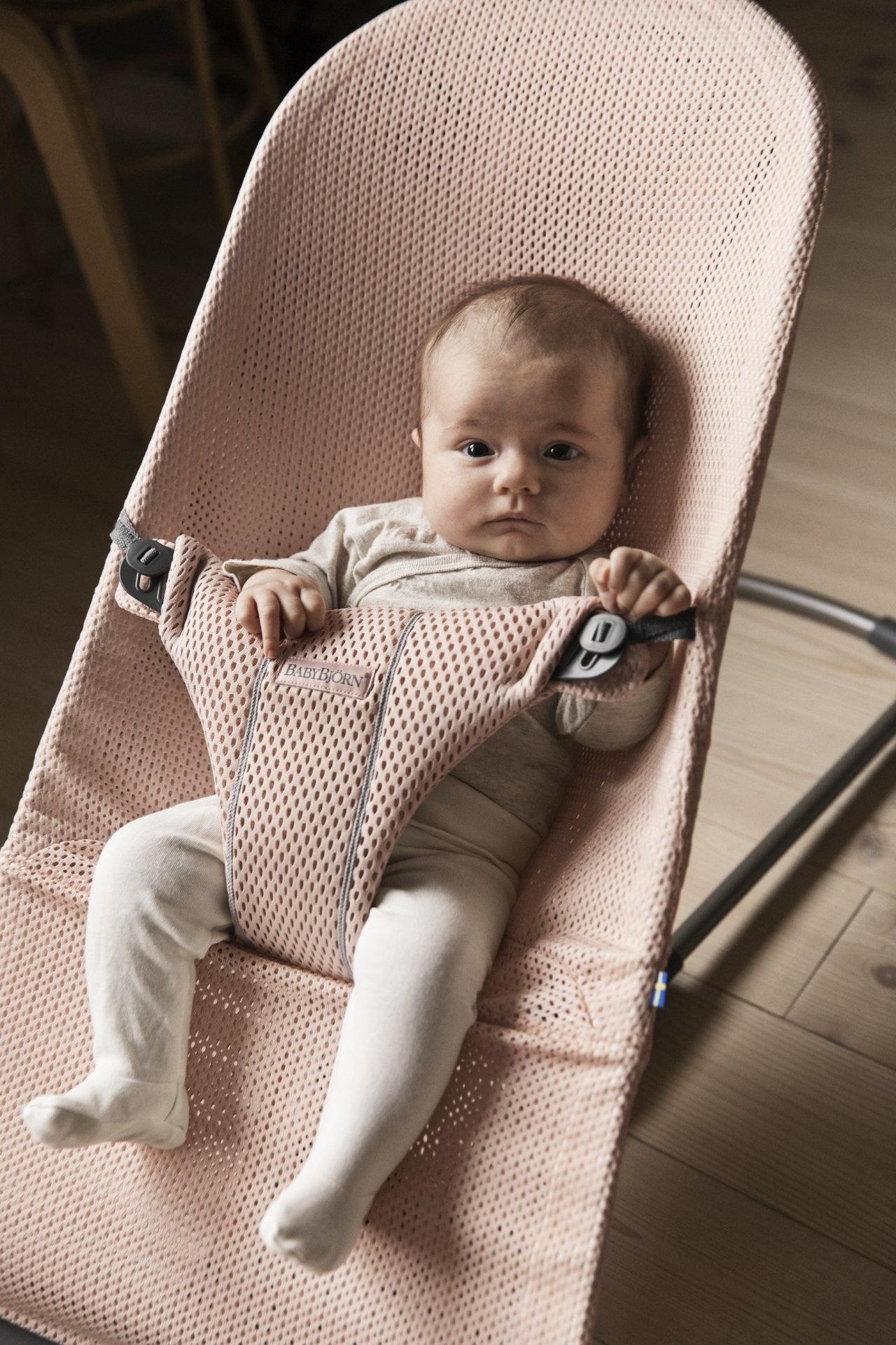 BABYBJÖRN Babybjörn Türsteher Bliss 3d Mesh Pearly Pink / Pearl Pink