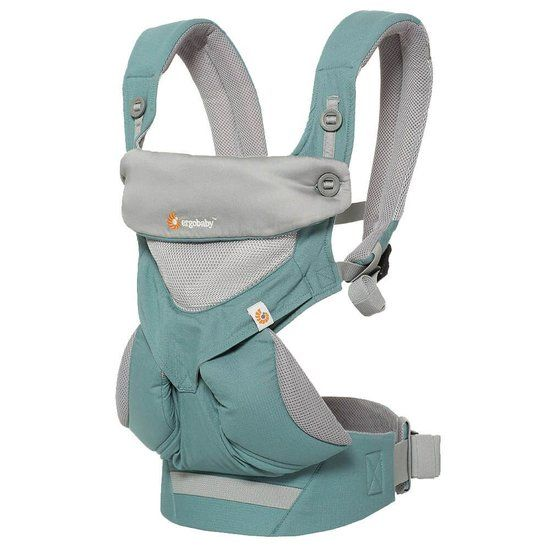 Ergobaby Ergobaby Babydraagzak 4P 360 - Cool Air Icy Mint - 2e Kansje