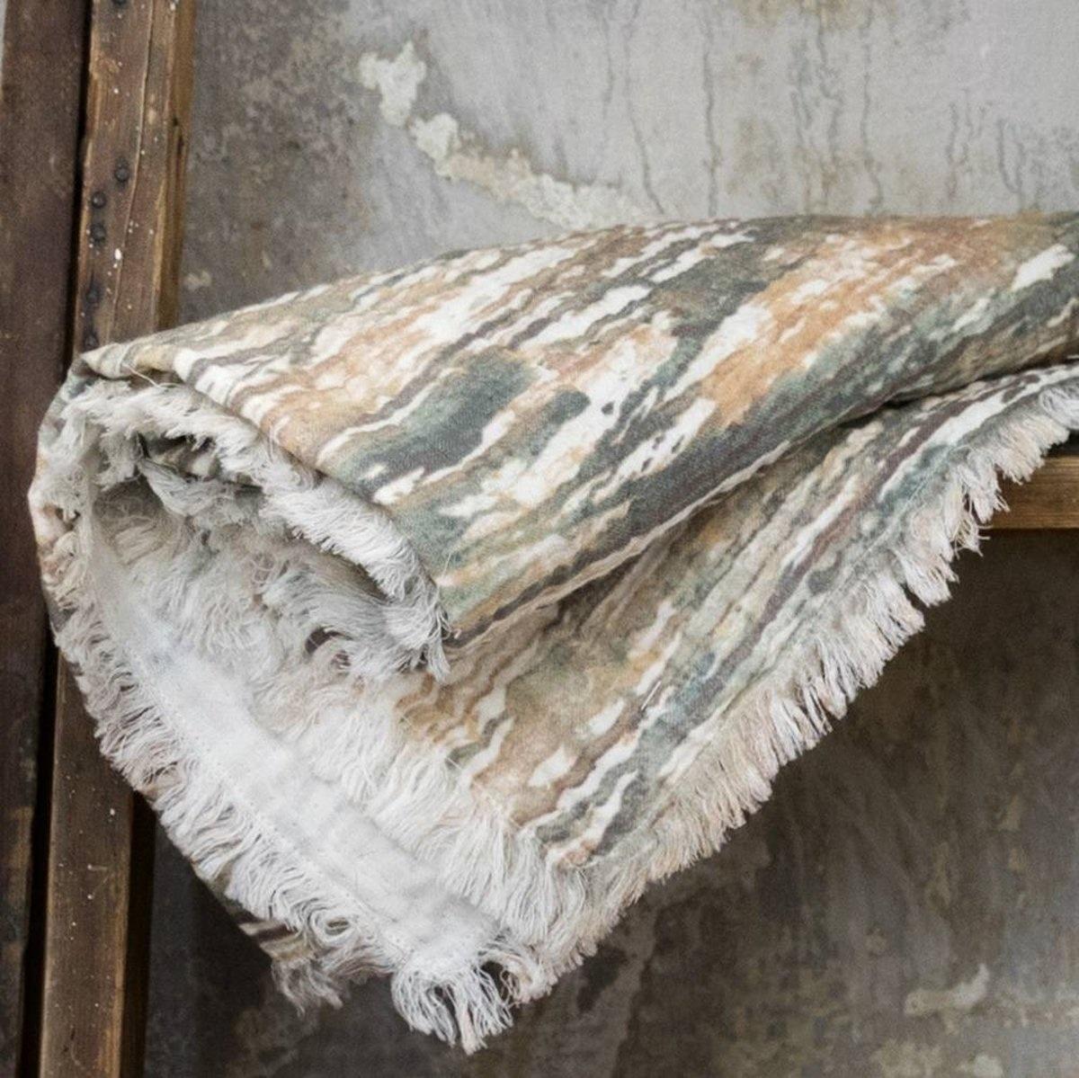 Elodie Details Elodie Details Decke aus weicher hydrophiler Baumwolle Unicorn Rain 75x100cm