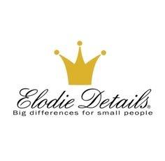 Elodie Details Elodie Details Bambus Musselin Stoff Everest Federn
