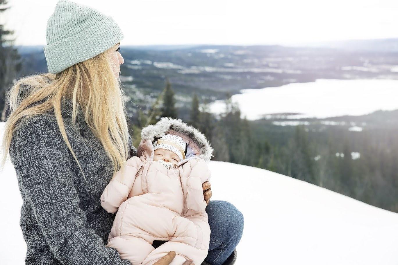 Elodie Details Elodie Details Fußsack / Overall Schlafsack für Autositz - Powder Pink 6-12m