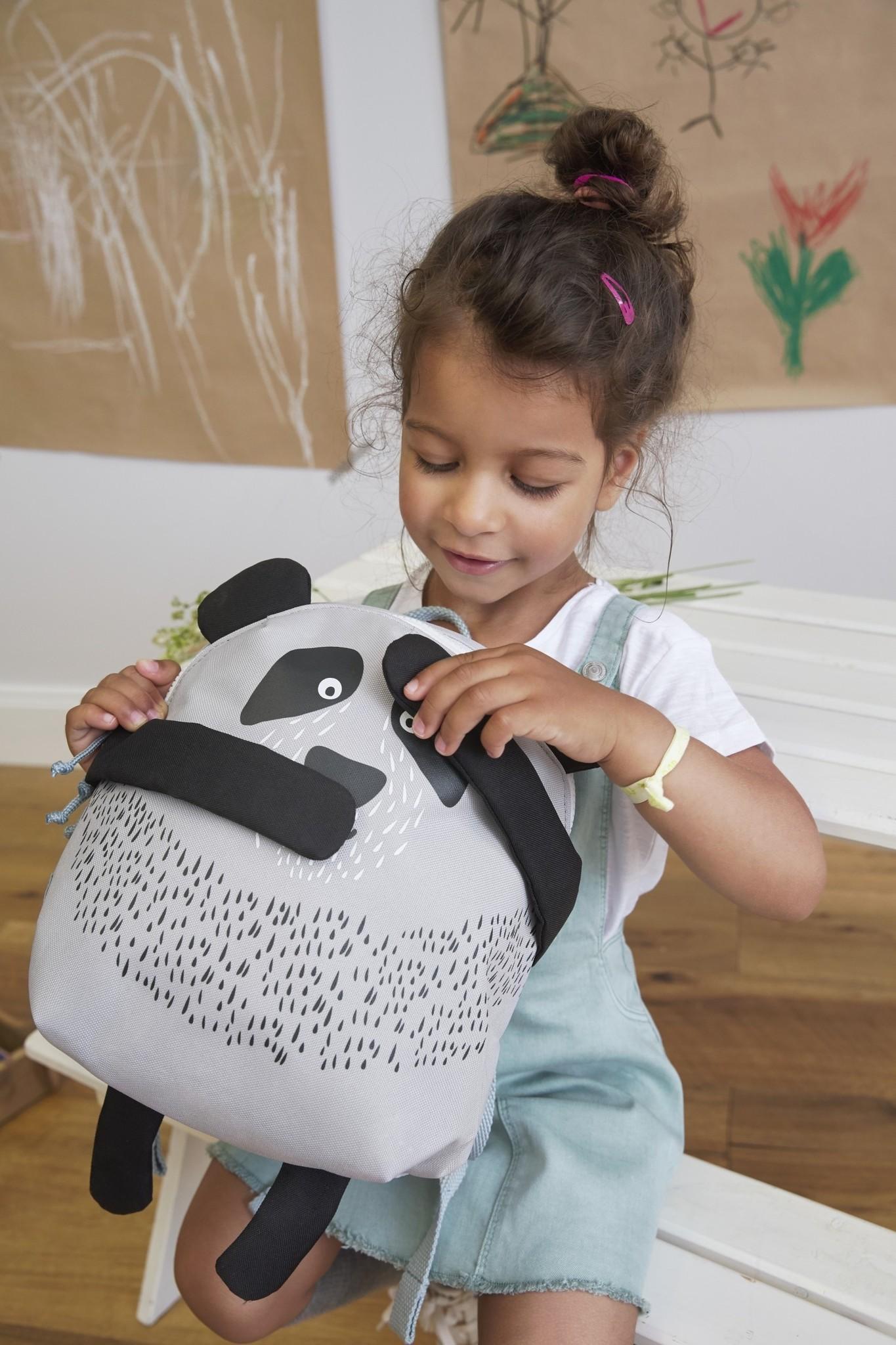 Lässig Lässig Backpack / Rugzak About Friends Pau Panda