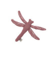 Lässig Lässig Strickspielzeug und Kuscheltier mit Rasselknistern Garden Explorer Dragonfly rot