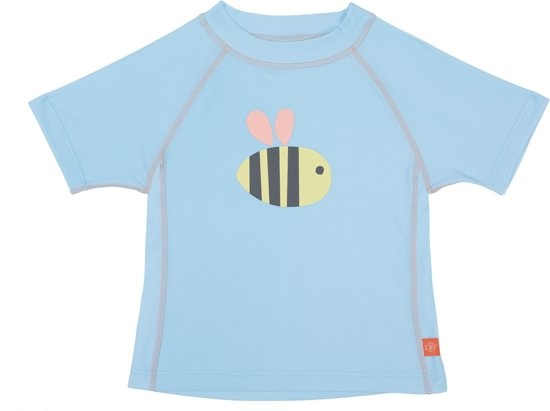 Lässig Lassig korte mouw Rashguard girls Bumble Bee 06 months