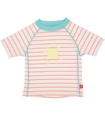 Lässig Lassig Short Sleeve Rashguard girls Sailor peachs