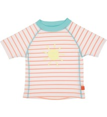 Lassig Short Sleeve Rashguard girls Sailor peachs