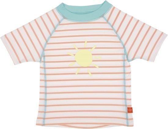Lassig Short Sleeve Rashguard girls Sailor peach 24 months