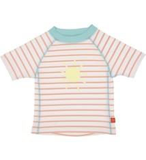Lässig Lassig Short Sleeve Rashguard girls Sailor peach 18 months
