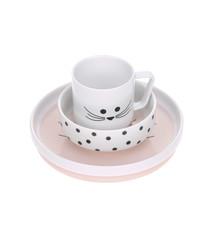 Lässig Lässig Geschirr Set Porzellan und Silikon Little Chums Mouse