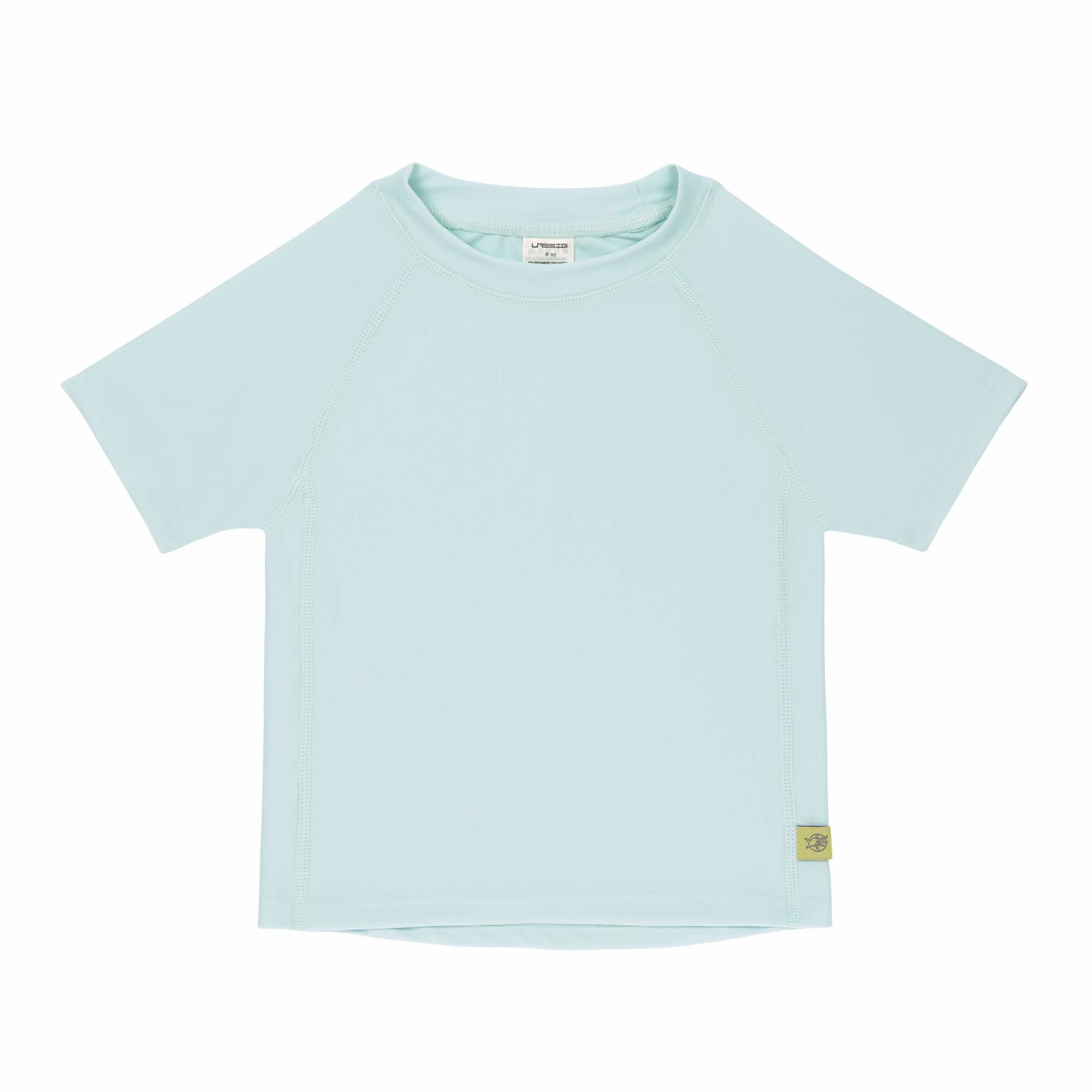 Lässig Lässig Splash & Fun Korte mouw Rashguard / zwemshirt - mint