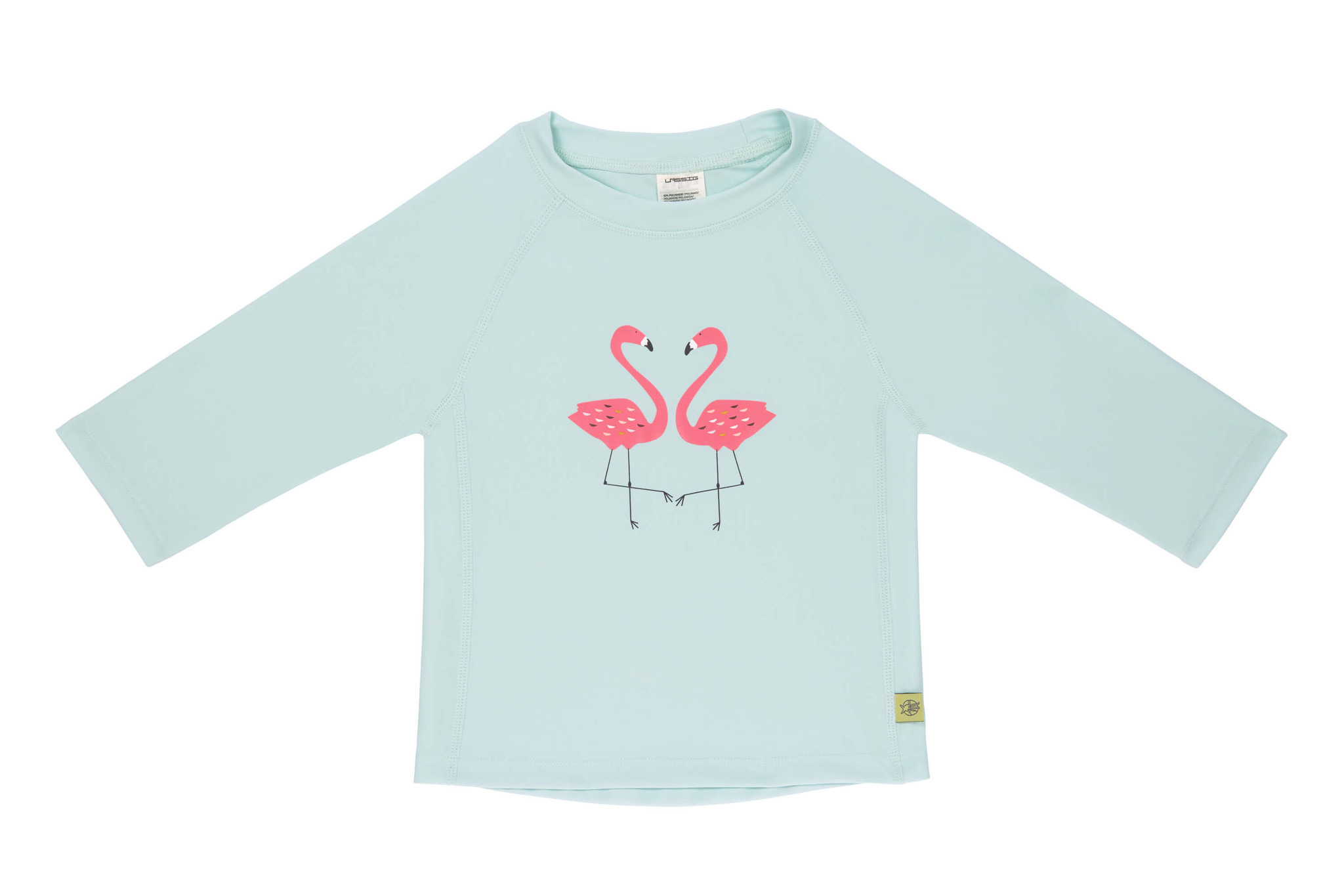 Lässig Lässig Splash & Fun Lange mouw Rashguard / zwemshirt - flamingo 6 maanden