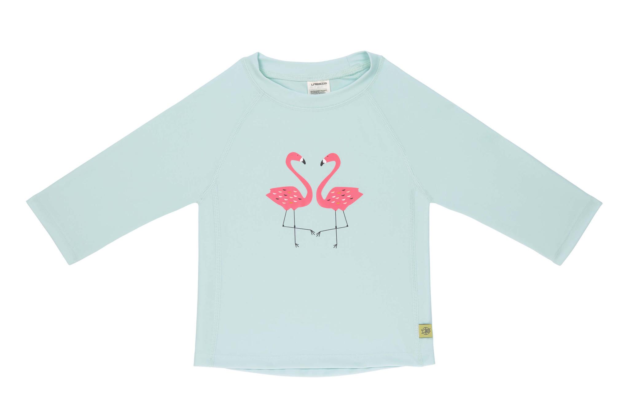 Lässig Lässig Splash & Fun Lange mouw Rashguard / zwemshirt - flamingo 18 maanden