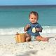 Lässig Lässig Splash & Fun Kurzarm Rashguard / Badeshirt - Penguin Niagara Blue 6 Monate