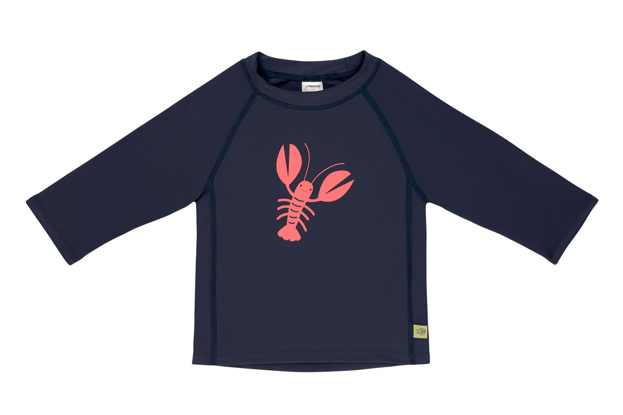 Lässig Lässig Splash & Fun Lange mouw Rashguard / zwemshirt - Lobster 6 maanden