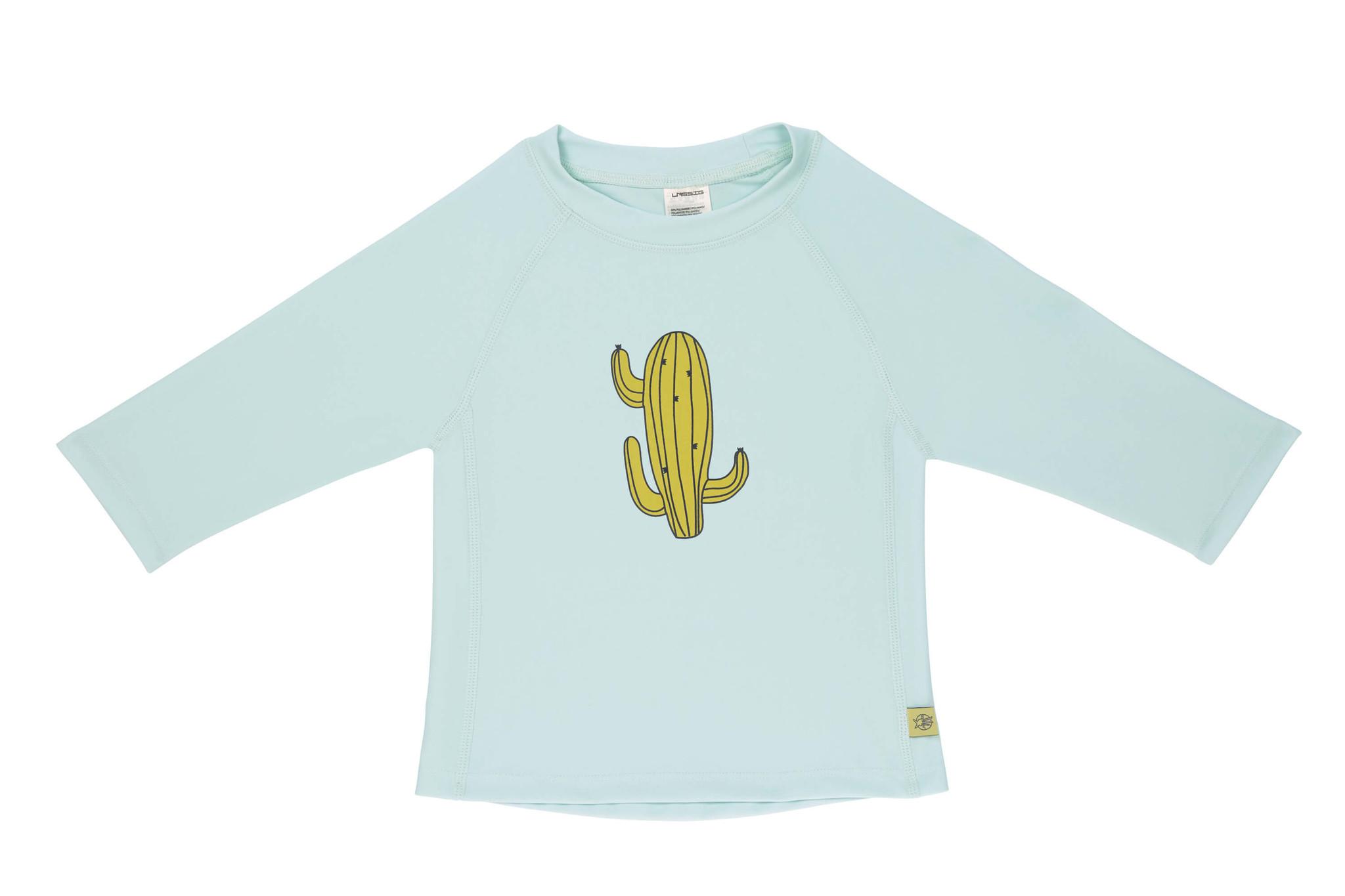 Lässig Lässig Splash & Fun Lange mouw Rashguard / zwemshirt - Cactus Family 6 maanden