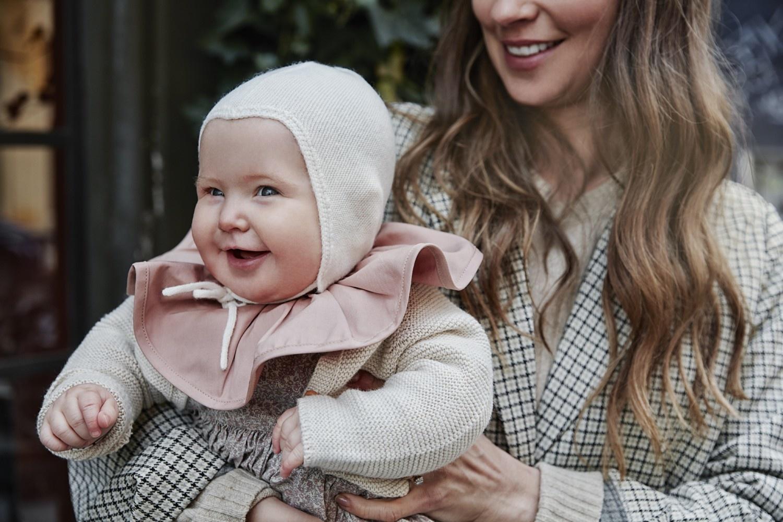 Elodie Details Elodie Baby Hut Vintage Vanille Weiß