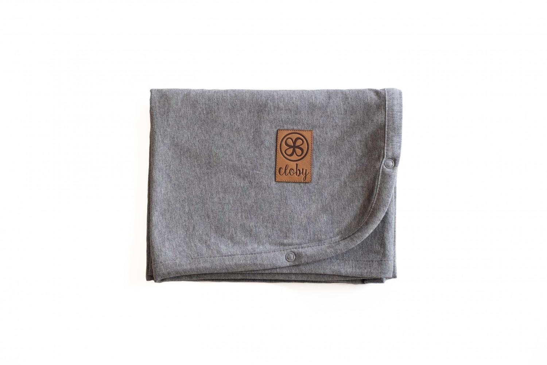 cloby Cloby multifunctional blanket UV 50+ grey