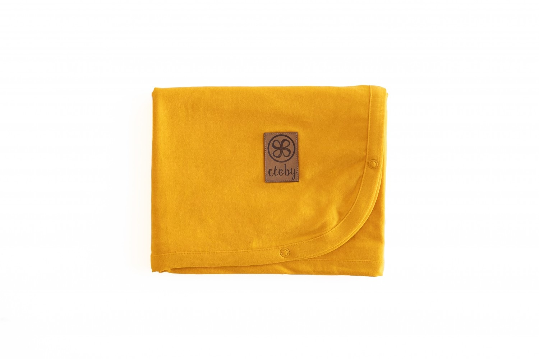 cloby Cloby multifunctional blanket UV 50+ mango