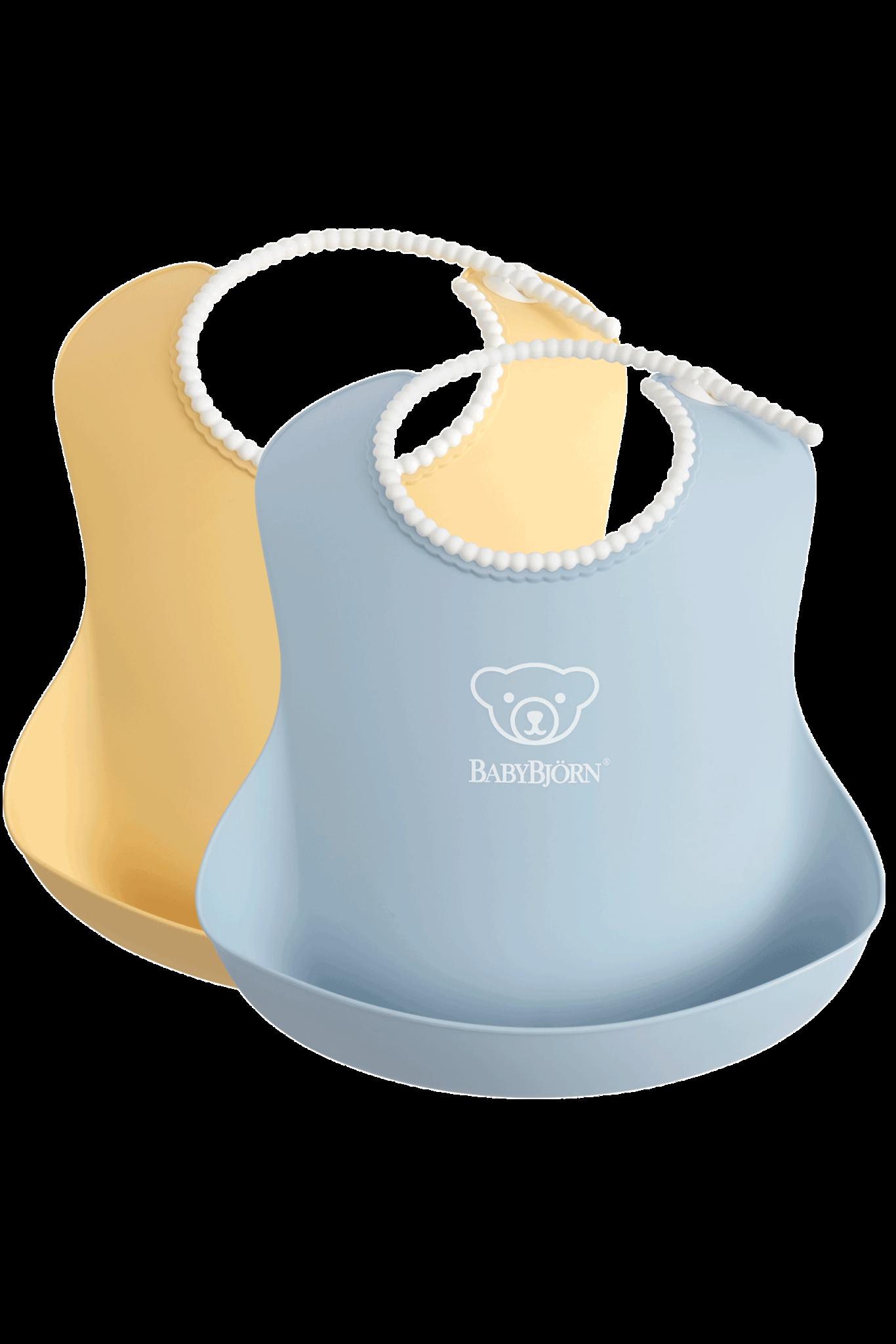 BABYBJÖRN BABYBJÖRN Baby Slab duopack Pastelgeel/Pastelblauw