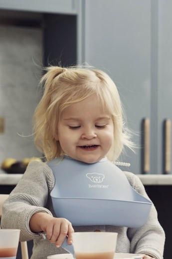 BABYBJÖRN BABYBJÖRN Baby Lätzchen große Duo-Packung Pastellgelb / Pastellblau